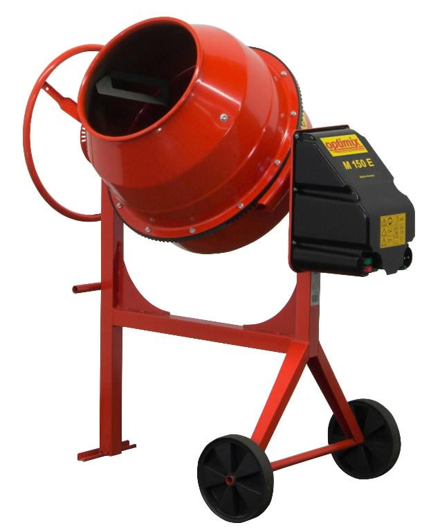 Betona maisītājs OPTIMIX M 150 E, Atika