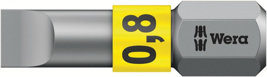 Otsak 1/4´´ 800/1 BTZ, SL 0,8x5,5x25, Wera