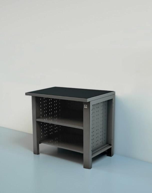 Töökoja laud 1m lahtise riiuliga, Keen Space