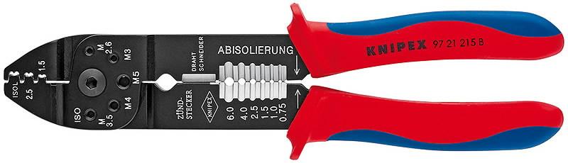 universaalsed klemmitangid 0,5-2,5mm2 isoleerimata ühendused, Knipex
