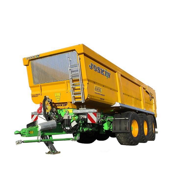 Tipping trailer  Trans-SPACE viljateoga 8000/27TRC150, Joskin
