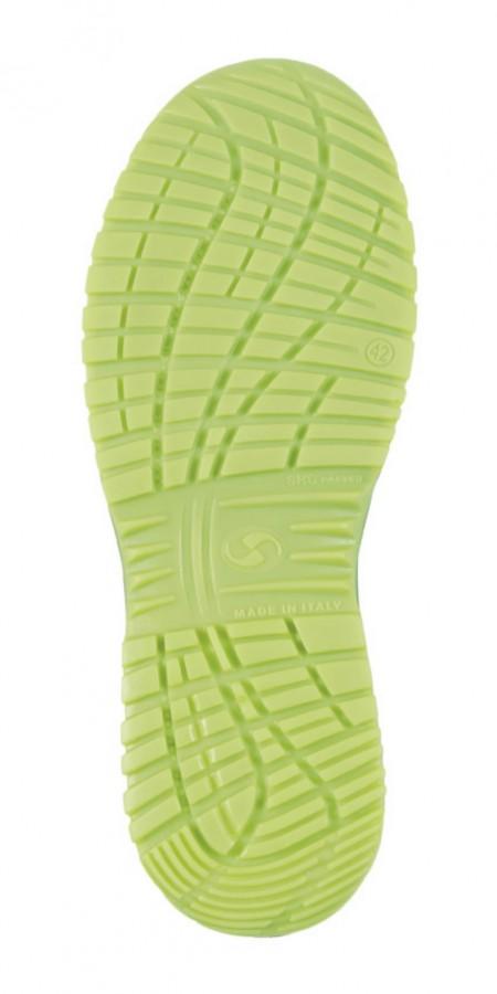 Apsauginiai batai Cuban 01L Ritmo, juoda/geltona S1P ESD SRC 48, Sixton Peak