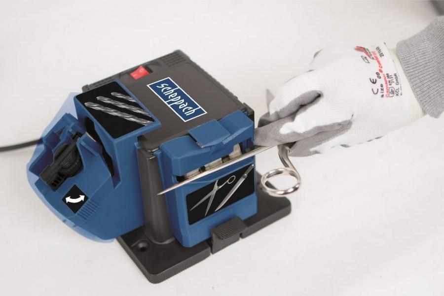Daugiafunkcinės elektrinės galandinimo staklės GS 650, Scheppach
