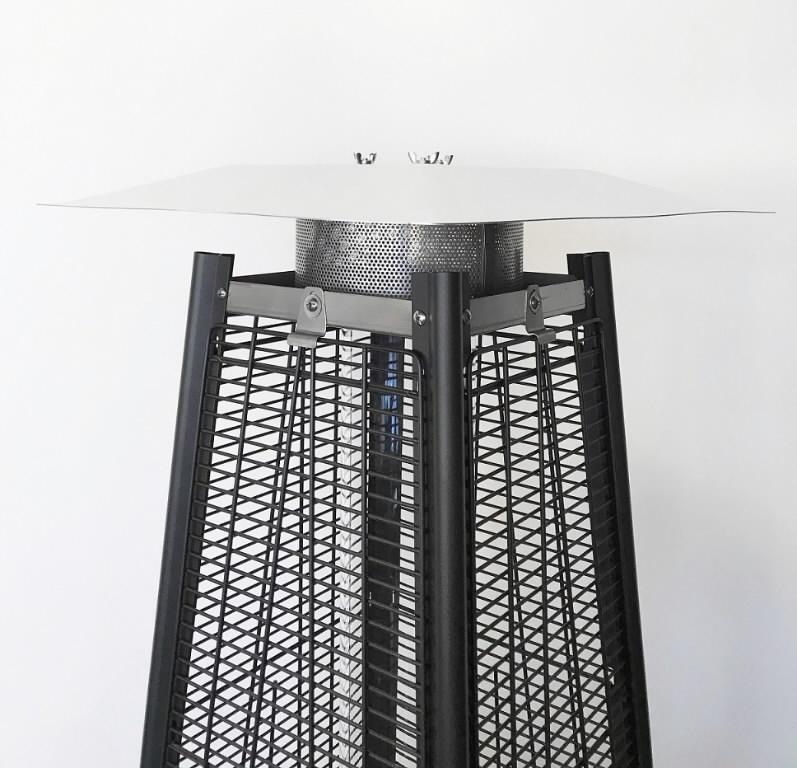 Gaasisoojendi terrassile TOWER PREMIUM FH-1000S 11,5kW, mada, Hipers