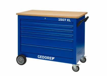 37c533acae4 tööriistakäru 6 sahtlit. tööriista kompl 308-osa, Gedore 3100065&GED , C  EAN: 4010886952948