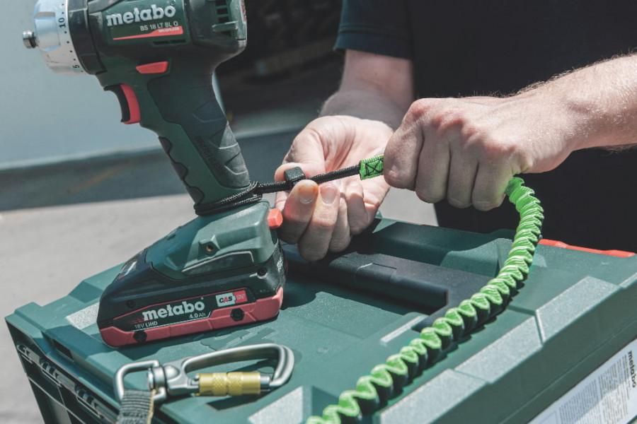 Tööriista turvakinnitus kmpl. kuni  5 kg, Metabo