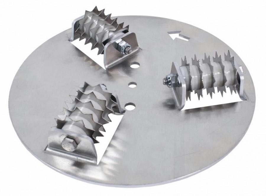 Perforating discs ų200, Rokamat