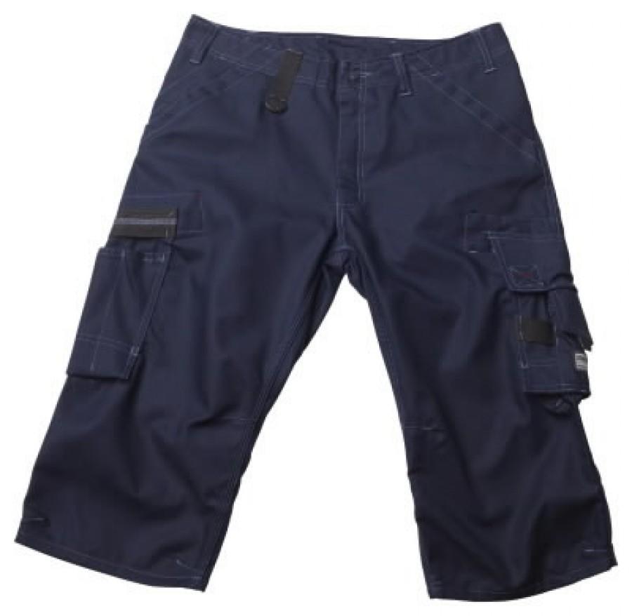 Штаны Limnos, темно-синие, размер C66, 3/4 длина, MASCOT