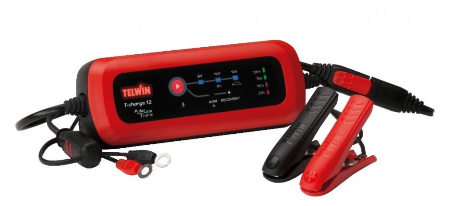 c835be11ce2 6/12V elektrooniline, veekindel akulaadija T-Charge 12, Telwin 807567&TELW  , B EAN: 8004897980454