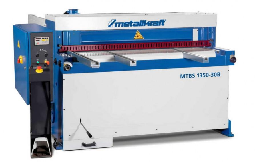 Mootoriga giljotiini MTBS 2550-40 B, Metallkraft
