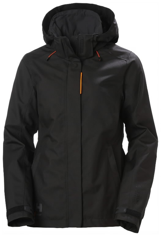 Jacket Luna hooded, women, black XL, Helly Hansen WorkWear