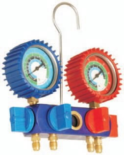 Manomeetrite komplekt gaasile R12-R134, Spin