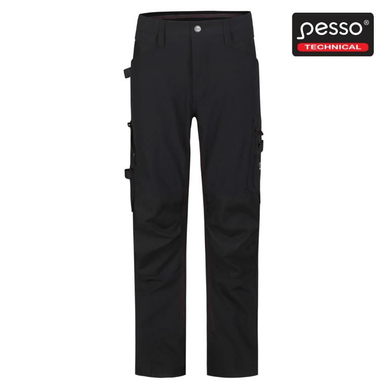 Tööpüksid Mercury, strets, must C60, Pesso