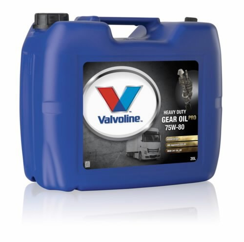 Transmissiooniõli HD GEAR OIL PRO 75W80 20L, VALVOLINE