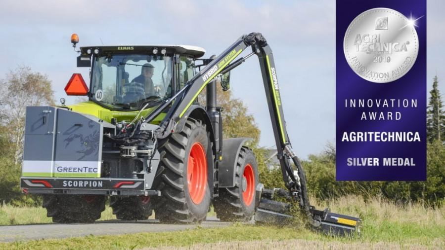 Boom mower Scorpion 530-6 S, GREENTEC