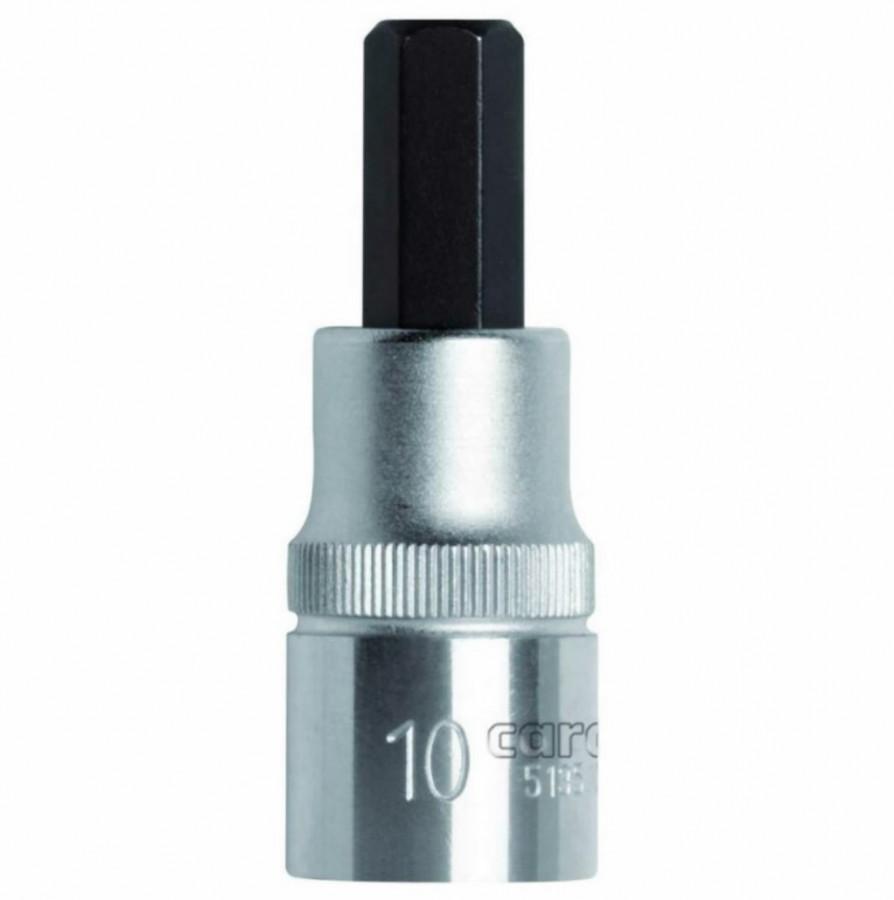 Otsakupadrun HEX 1/2´´ 10mm l.55mm R62551010, Gedore RED