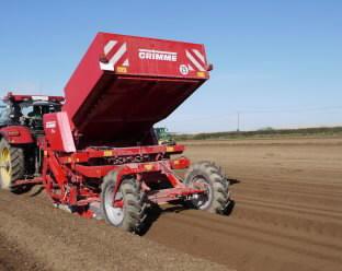 Potato planter  GB 330, Grimme
