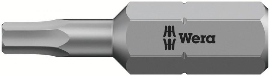 Otsak 1/4´´ 840/1 Z, HEX 3,0x25, Wera