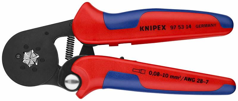 Juhtmeotsatangid 6-kant 0,08-10,0mm2, Knipex