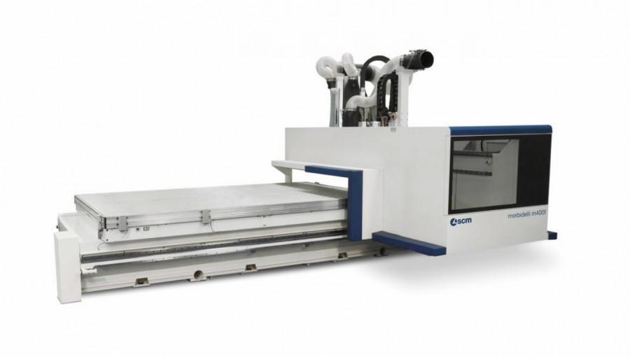 CNC töötlemiskeskus Morbidelli M400F 3650x2120, SCM