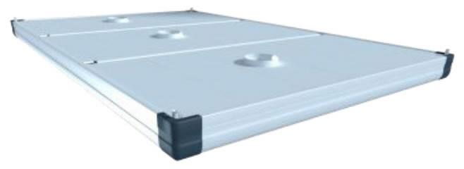 Äratõmbekubu ühendusäärikuga ja kinnitusklambritega 4,5x4,5m, Plymovent