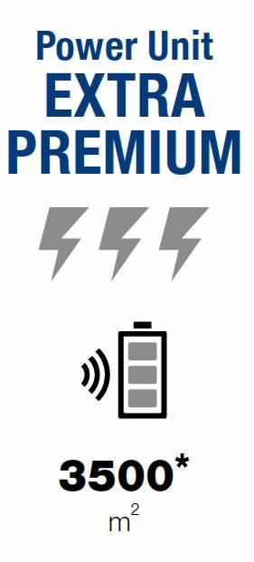 Aku ja laadija komplekt Extra Premium 4.0  (8A/8,7), Ambrogio