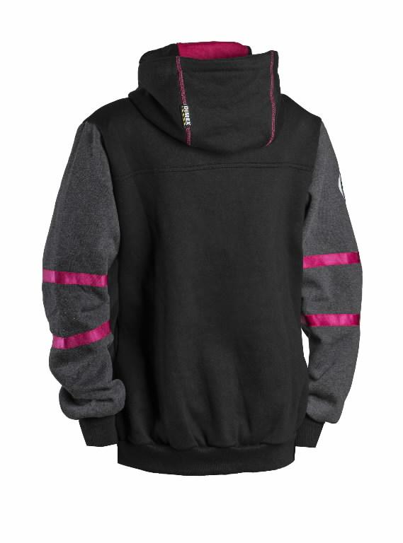 Džemperis  4332+, moteriškas, juoda, pilka XS, Dimex