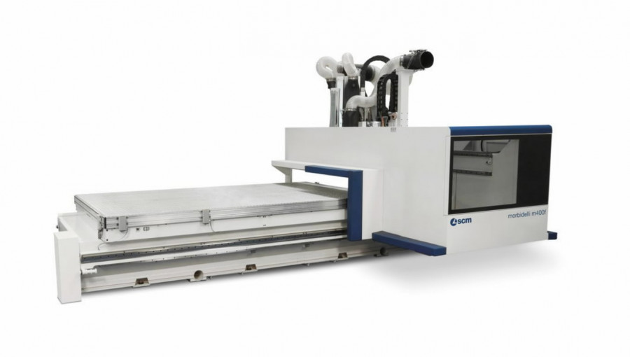 CNC töötlemiskeskus Morbidelli M400F 6170x2120, SCM