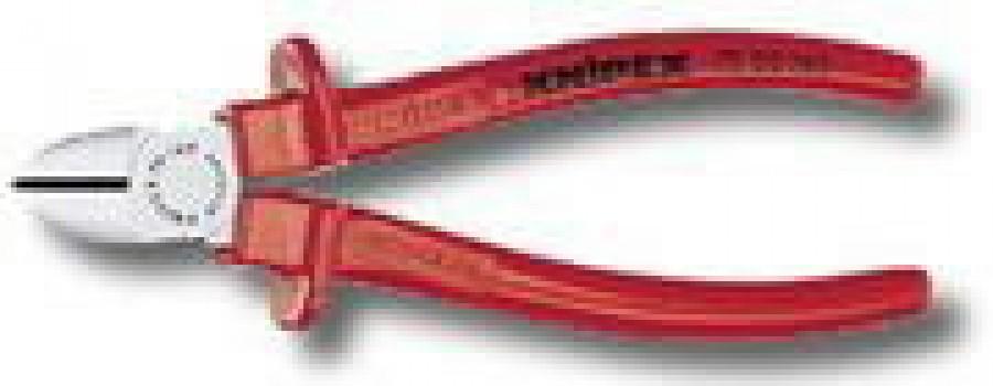 Külglõiketangid 125mm Comfort käepide, Knipex