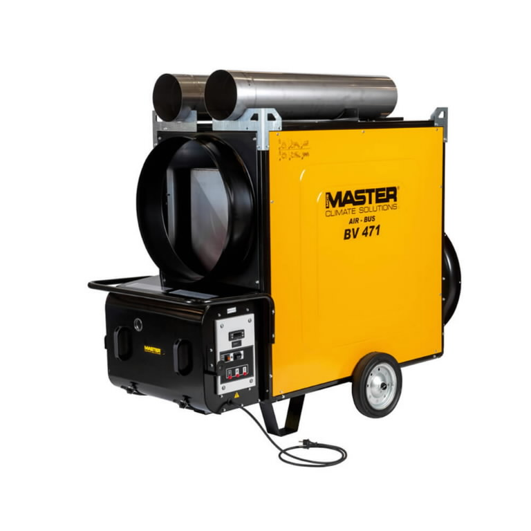 Indirect oil heater BV 471 S 136 kW, Master