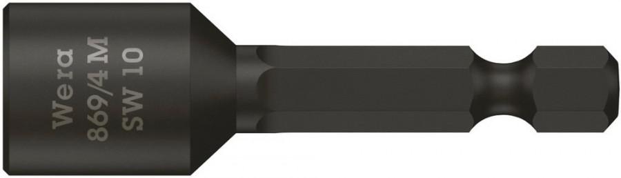 Насадка-бита для кровельных саморезов 10мм 869/4M 50 мм, с магнитом, WERA