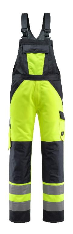 Traksipüksid Gosford kõrgnähtav CL2, kollane/t.sinine 82C64, Mascot