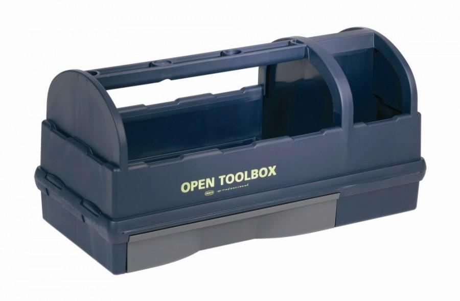 Avatud tööriistakast 230 x 476 x 228mm, Raaco