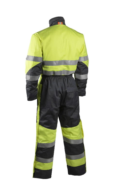 Welder winter overall Multi 6007, HI-VIS yellow/grey S, Dimex
