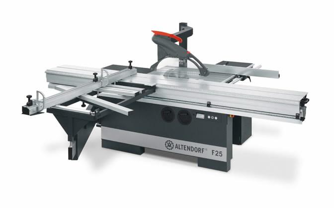Sliding table saw  F25 TYPE 2, Altendorf