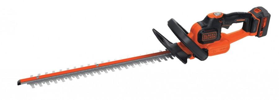 Akuga hekipügaja GTC18504PC / 18 V / 4 Ah / 50 cm / PC, Black+Decker