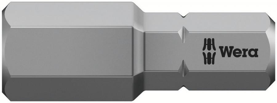 Otsak 1/4´´ 840/1 Z, HEX 8,0x25, Wera