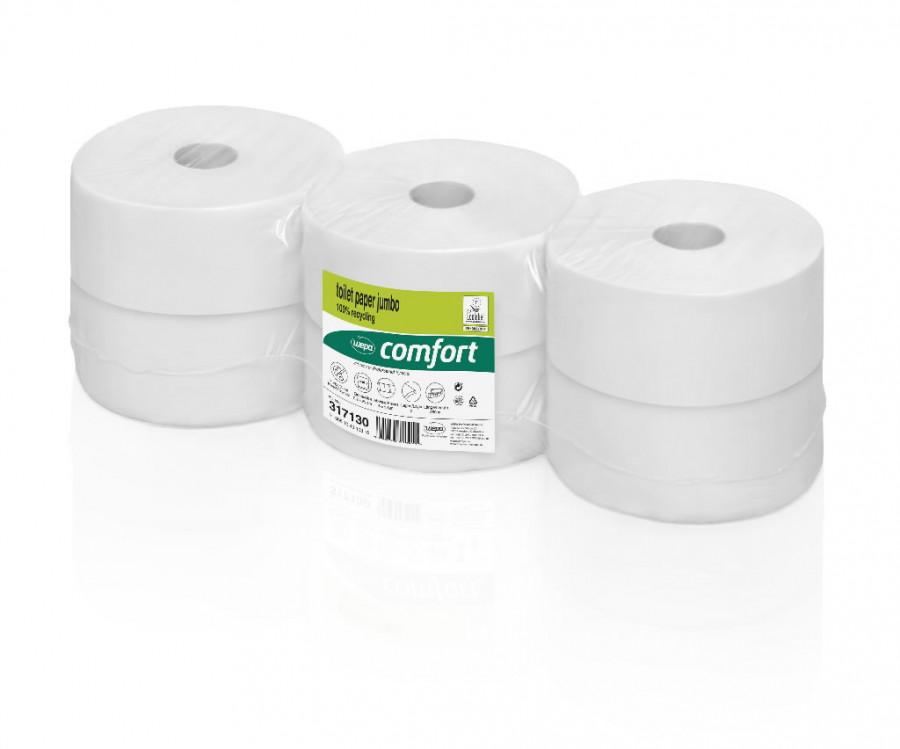 Tualettpaber rullis Comfort/ 2- kihti/6 x 380 m JT2