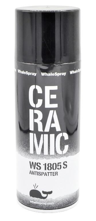 Ceramic anti-spatter spray WS 1805 S 400ml, Whale Spray