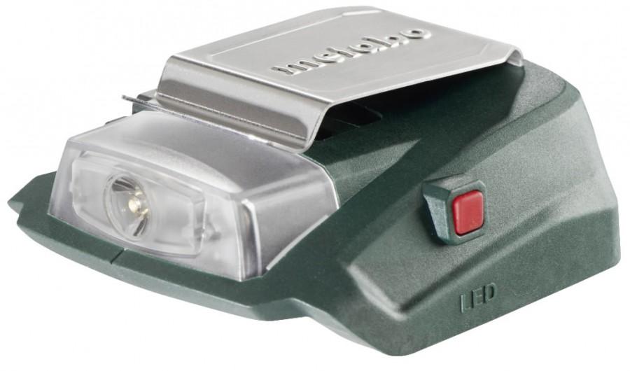 Akupank / adapter PA 14.4-18 LED-USB, karkass, Metabo