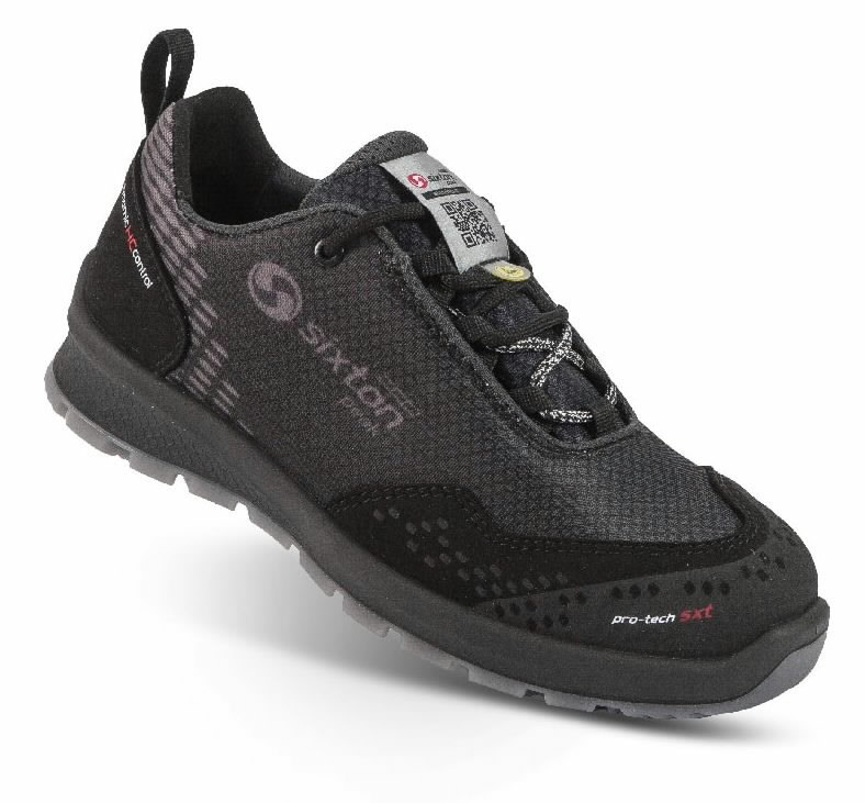 Safety shoes Skipper Lady Cima, black S3 ESD SRC women 41, Sixton Peak