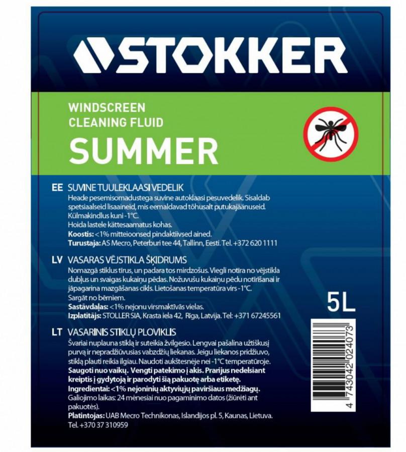 7517d831d13 Klaasipesuvedelik suvine STOKKER 5L, Stokker SUMMER5L&POL , A EAN:  4742766000073