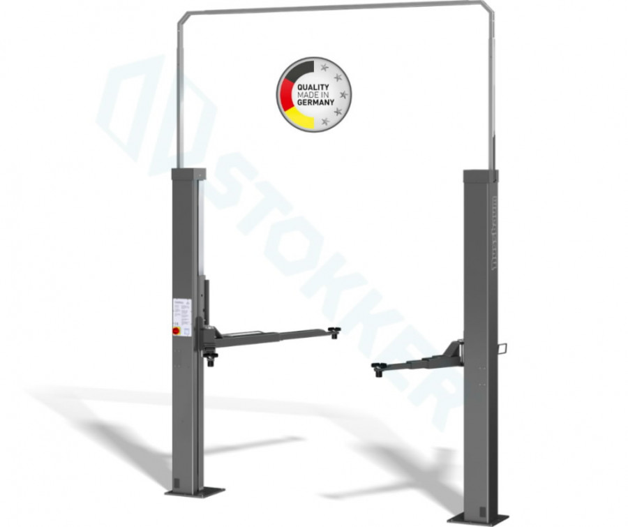 2-post tõstuk SMART LIFT 2.30 SL DT 3T,  RAL5001, Nussbaum