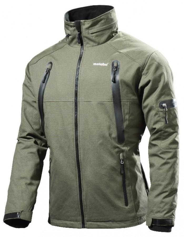 1 Heated jacket