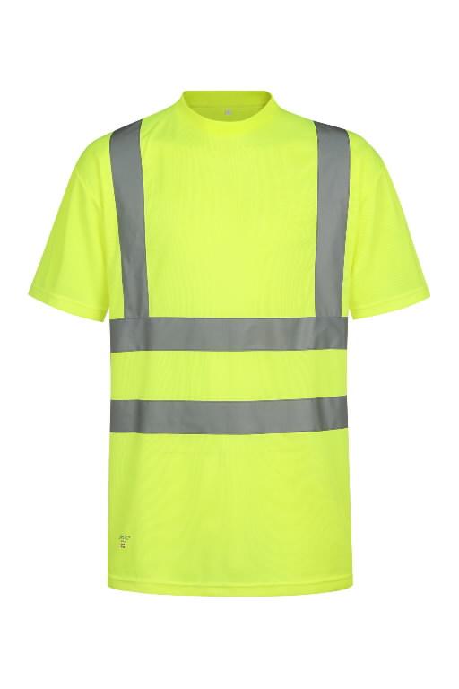 T-särk HVMG kõrgnähtav CL2, kollane S, Pesso