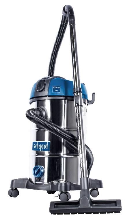 Vee- ja tolmuimeja NTS 30 Premium, puhumisfunktsiooniga, Scheppach