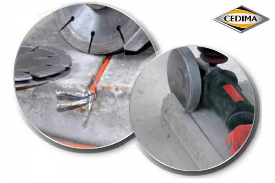 Pjovimo diskas 125mm EC-78 6,8x10x22,23mm, Cedima