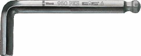 L-key HEX 950 PKS 5.0x90, Wera