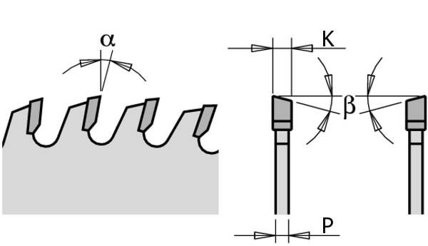 PRECISION SAW BLADE 160X2.2X20 Z=48 15° ATB, CMT