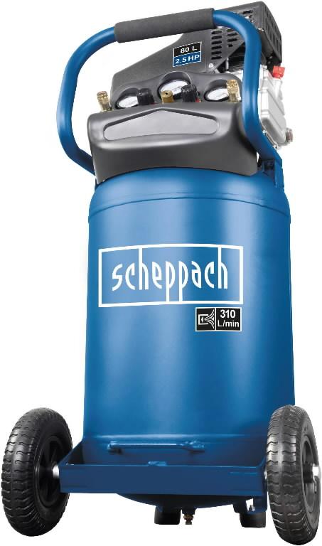 Kompressor vertikaalne õlivaba HC 80V, Scheppach
